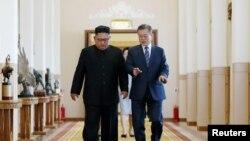 VOA连线(李逸华):韩朝领导人峰会落幕,特朗普总统称朝鲜问题取得重大进展