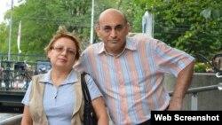 Leyla və Arif Yunus (Foto Leyla və Arif Yunusların Facebook səhifəsindən götürülüb)