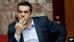 Grčki premijer, Aleksis Cipras