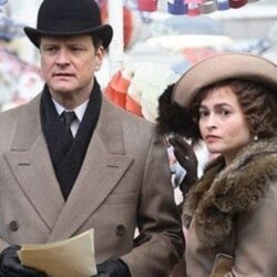"Colin Firth and Helena Bonham Carter in ""The King's Speech"""