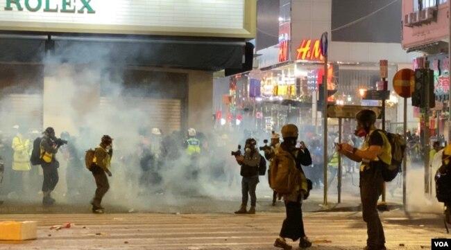 Las protestas en Hong Kong no se han detenido desde junio pasado. Muchas de ellas se han tornado a menudo violentas.