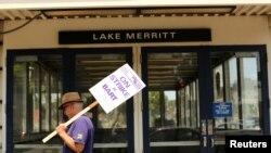 A inicios del mes de julio 2.400 empleados de BART realizaron una huelga en la lucha por sus derechos.
