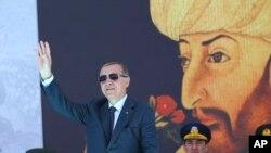 თურქეთის პრეზიდენტი რეჯეპ ტაიპ ერდოღანი