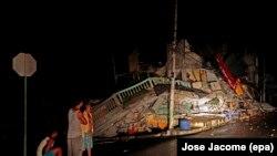En images : l'Équateur frappé par un violent séisme