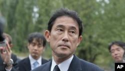 ဂ်ပန္ဝန္ႀကီးခ်ဳပ္သစ္ျဖစ္လာမယ့္ ႏိုင္ငံျခားေရးဝန္ႀကီးေဟာင္း Fumio Kishida