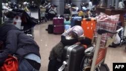 Каирский аэропорт 31 января 2011