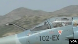 Salah satu pesawat NATO dalam misi militernya di Libya (foto: dok).