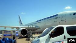 Sân bay quốc tế Charles de Gaulle tại Roissy, gần Paris.