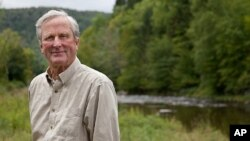 Today, John Adams is chairman of the Open Space Institute, which purchases scenic and natural land in New England to protect it from development.