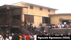 Un établissement scolaire dans la région du Pool, au Congo-Brazzaville. (VOA/Ngouela Ngoussou)