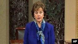 Ketua Komite Inteljen Senat AS, Senator Dianne Feinstein (foto: dok).