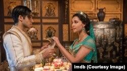 "Cuplikan adegan film ""Aladdin"" (2019). (Courtesy Photo)"