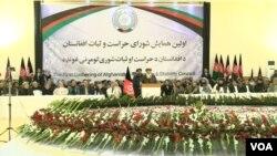 سخنرانان نخسین گردهمایی این شورا گفتند که انها در مورد بقا و اینده افغانستان سخت نگران اند