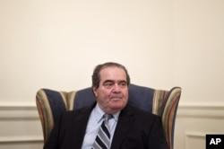 File: Supreme Court Justice Antonin Scalia in July 26, 2012.