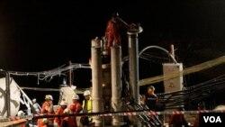 La nueva maquinara agilizará el trabajo de rescate que por el momento está previsto que concluya en diciembre.