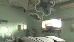 Doctors, Nurses Continue to Provide Care at Damaged Sirte Hospital