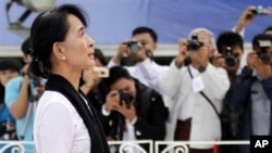 Aung San Suu Kyi - Martyrs' Day