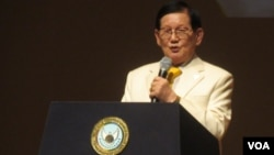 Man Hee Lee, presidente da HWPL
