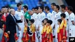 Coupe du monde des clubs, maroc, 18 decembre 2013.
