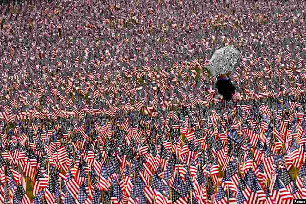 Mayo. Día de los Caídos, recordando a las víctimas del maratón de Boston.