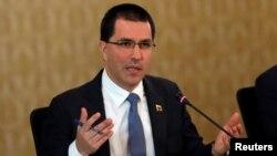 Хорхе Арреаса, міністр закордонних справ Венесуели, опинився під санкціями США