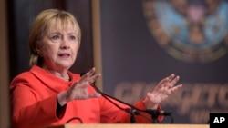 힐러리 클린턴 전 미 국무장관.