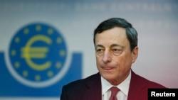 Thống đốc Ngân hàng Trung ương Âu Châu Mario Draghi.