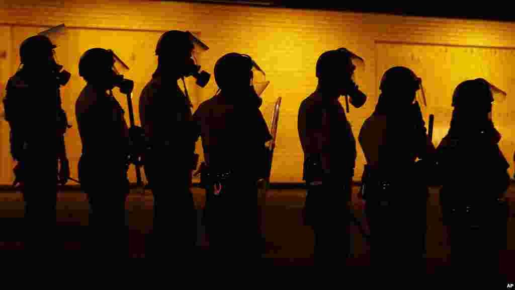 'Yan Sandan a Ferguson, Missouri, Aug. 17, 2014.