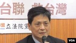 台联党立委赖振昌(美国之音张永泰拍摄)