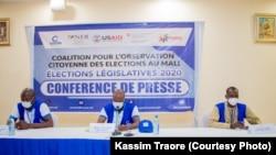 La Coalition pour l'Observation Citoyenne des Élections au Mali (COCEM) a procédé à l'observation du second tour des élections législatives qui, à l'instar du premier tour, s'est tenu dans un contexte de propagation du Coronavirus et de recrudescence de l'insécurité.