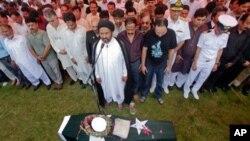 لیفٹیننٹ یاسر عباس کی نماز جنازہ لاہور میں ادا کی گئی
