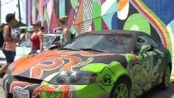 Artsy Cars Drive Visitors to Festival