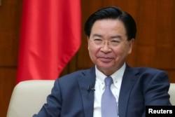 資料照:台灣外交部長吳釗燮