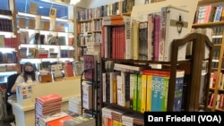 The inside of Capitol Hill Books on June 4, 2021 in Washington, D.C. (Dan Friedell)