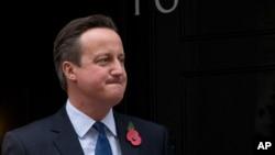 데이비드 캐머런 영국 총리. (자료사진)