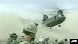 В Афганистане разбился вертолет с подрядчиками