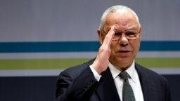 Mantan Menlu AS Colin Powell meninggal dunia akibat komplikasi COVID-19. (REUTERS/Jonathan Ernst).