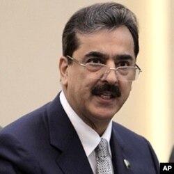 Pakistan's Prime Minister Yusuf Raza Gilani (File)