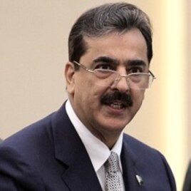 Pakistan's Prime Minister Yusuf Raza Gilani (File Photo)