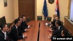 Sastanak predstavnika Srba sa Kosova i premijera Srbije Aleksandra Vučića, 11. mart 2015.