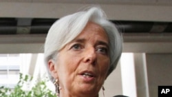 국제통화기금(IMF)의 신임 총재로 선출된 크리스틴 라가르드