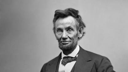 Abraham Lincoln 1865 by Alexander Gardner