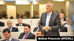 Arhiv - Nikola Špirić za vrijeme poslaničkog mandata u Parlamentu BiH