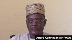 Adoum Forteil, Gouverneur de la région du Lac, Bol 26 octobre 2017 (VOA/ André Kodmadjingar)