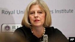 ترزا می، وزیر کشور بریتانیا