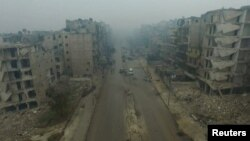 Алеппо. Декабрь 2016-го года.