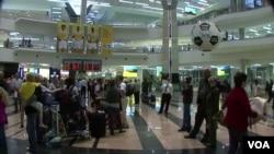 Pemerintah Afsel merenovasi total bandara internasional di Johannesburg yang kini mampu menampung 28 juta penumpang per tahun.