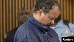 Ariel Castro appears in court for his initial appearance in Cleveland, Ohio, May 9, 2013.