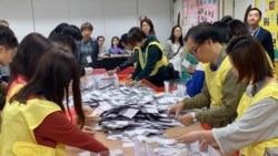 Hong Kong: victoire écrasante des pro-démocratie aux élections locales