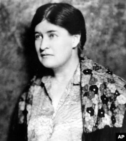Willa Cather, American author and 1923 Pulitzer Prize winner, is seen in this photo from November 1937.